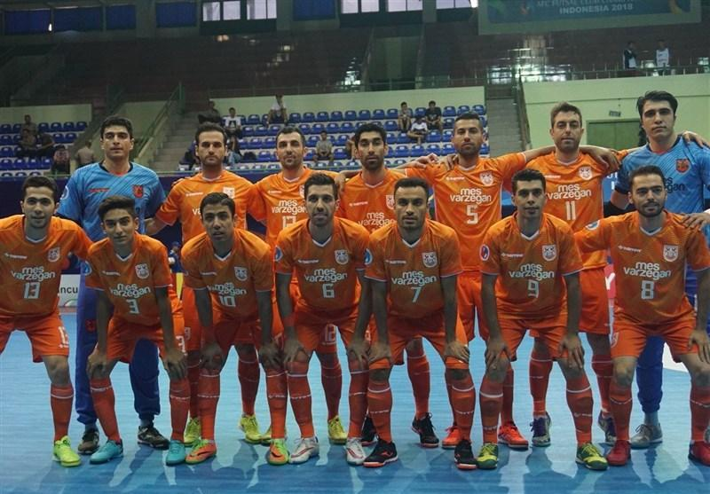 فوتسال قهرمانی باشگاه های آسیا، حضور کفاشیان در اردوی مس سونگون