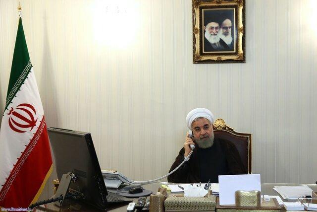 روحانی در گفت وگو با پوتین: درباره کرونا به سمت کنترل کامل شرایط پیش می رویم