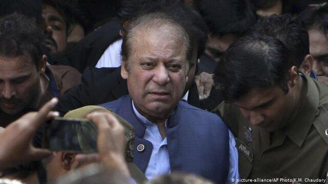 پلیس پاکستان علیه نواز شریف شکایت کرد